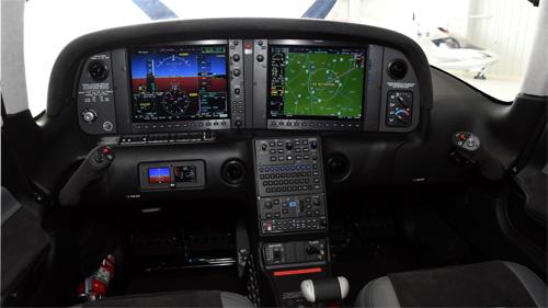 5-25-21 N546PA Panel G1000 lit 500x281